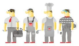 Profissões Ilustração do Vetor
