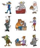 Profissões animais Foto de Stock