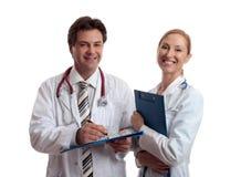 Profissionais dos cuidados médicos fotografia de stock royalty free