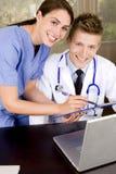 Profissionais médicos Foto de Stock