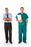 Profissionais médicos Fotografia de Stock Royalty Free