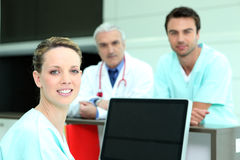 Profissionais médicos Foto de Stock Royalty Free