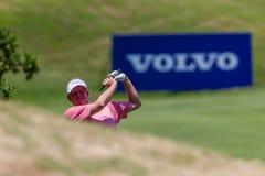 Profissional Colin Montgomerie Swinging do golfe Imagens de Stock