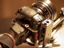 Profissional da engrenagem da câmera Imagens de Stock
