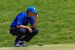 Profissional David Howell Green do golfe Fotografia de Stock Royalty Free