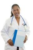Profissional de sorriso dos cuidados médicos Fotografia de Stock Royalty Free