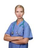 Profissional fêmea novo dos cuidados médicos Imagens de Stock