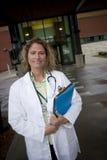 Profissional médico fêmea Imagens de Stock