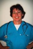 Profissional médico fêmea Imagens de Stock Royalty Free