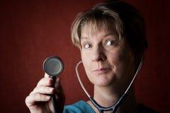 Profissional médico Imagens de Stock