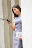 Profissional novo da mulher de negócio do advogado Imagem de Stock