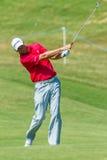 Profissional Robert Karlson Swinging do golfe Fotos de Stock