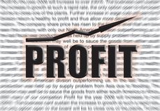 Profit. Background for a presentation Stock Images