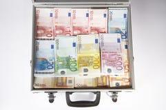 Profit. Money case on white background Royalty Free Stock Photo