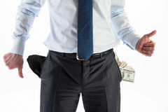 Profit or bankruptcy? Stock Image