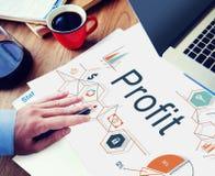 Profit Benefit Revenue Earnings Gain Gross Income Concept Stock Photo