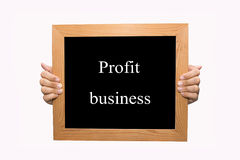 Profit business Royalty Free Stock Photos