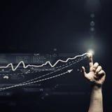 Profit chart Stock Photo
