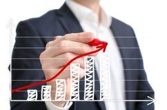 Profit chart Royalty Free Stock Image