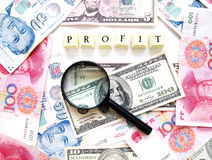 Profit concept Royalty Free Stock Photography