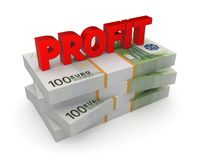 Profit concept. Royalty Free Stock Photos