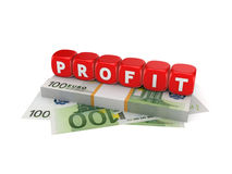 Profit concept. Royalty Free Stock Photography