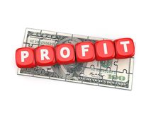 Profit concept. Stock Photography