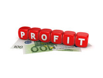 Profit concept. Royalty Free Stock Photo