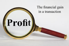 Profit Concept Royalty Free Stock Photos