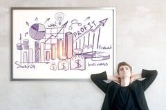 Profit concept Stock Images