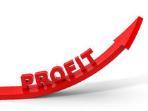 Profit concept. Royalty Free Stock Images