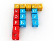 Profit Crossword Stock Photos