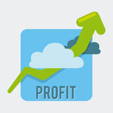 Profit design Royalty Free Stock Images