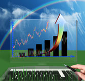 Profit. Diagram. Stock Photos