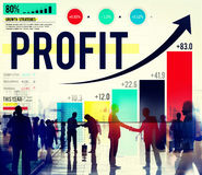 Profit Finance Data Analysis Money Accumulation Concept Royalty Free Stock Image