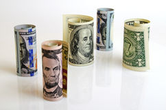 Profit and financial strategy. Stock Photography