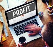 Profit Gain Financial Revenue Income Concept Royalty Free Stock Images
