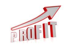 Profit growth Royalty Free Stock Image