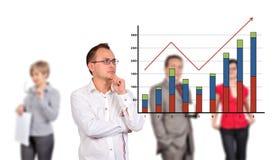 Profit growth Stock Photography