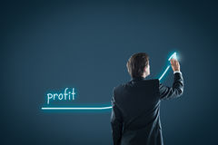 Profit royalty free stock photo