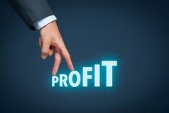 Profit Royalty Free Stock Photos