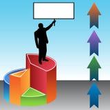 Profit Leader. An image of a profit leader Stock Image