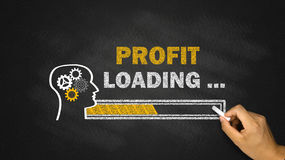 Profit loading concept Stock Photography