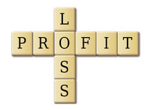 Profit and loss Royalty Free Stock Photography