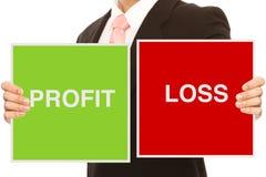 Profit or Loss Royalty Free Stock Photo