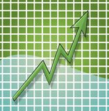 Profit Loss Chart Stock Photography