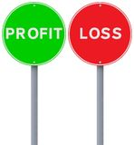 Profit or Loss Royalty Free Stock Photos