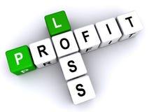 Profit or loss vector illustration