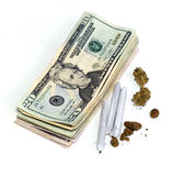 Profit from medicinal marijuana Stock Images