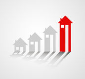 Profit of properties Royalty Free Stock Photography